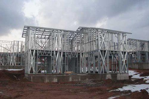 Здания на основе облегчённого металлического каркаса в Осинниках